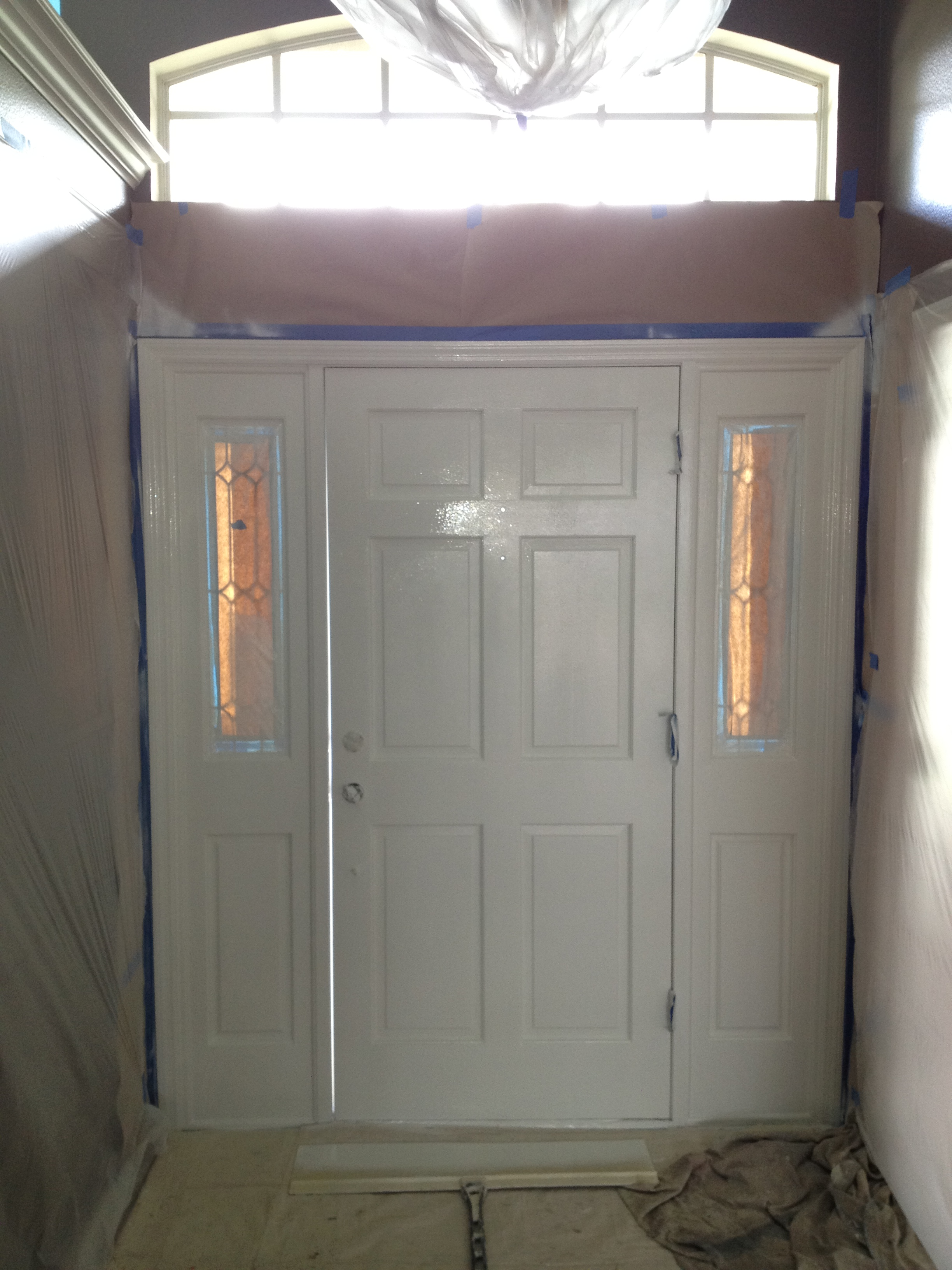 Interior House Painting Before