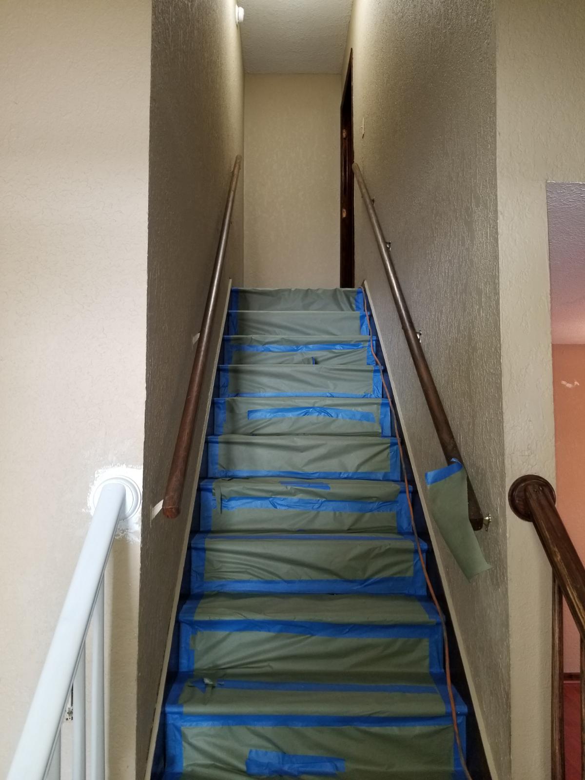 Stairs Repaint