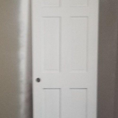 Interior Door Repainting