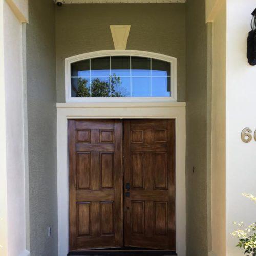 Front Door After Repaint