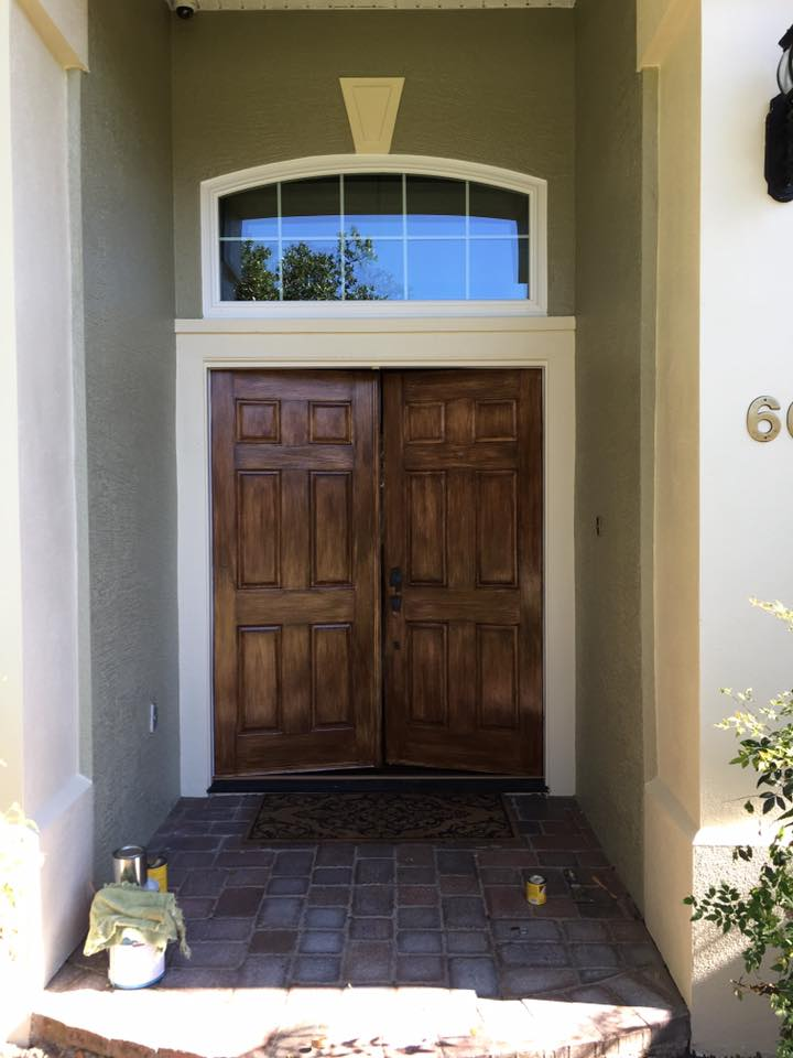 Front Door After Repaint
