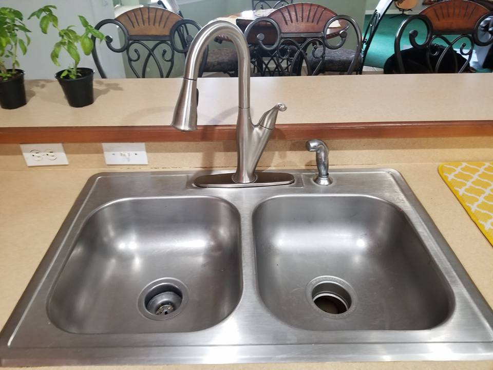 Kitchen Sink Replacement - Old Sink