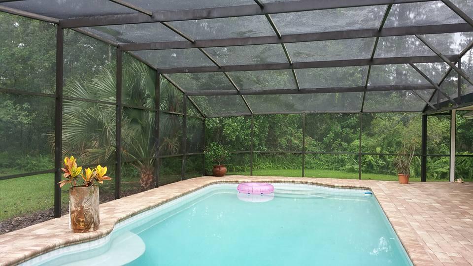 Pool Deck After Pressure Wash