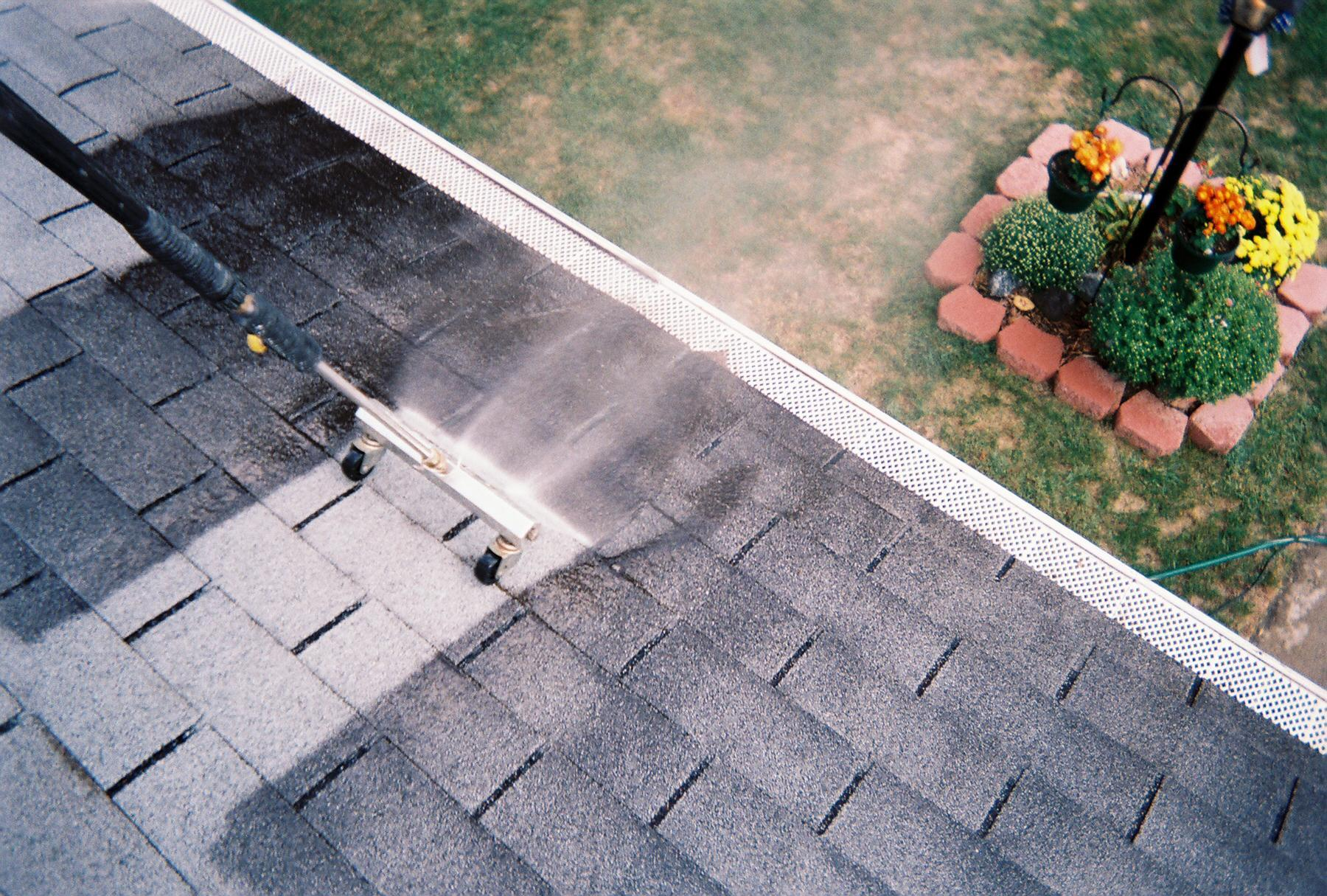 roof cleaning contractors