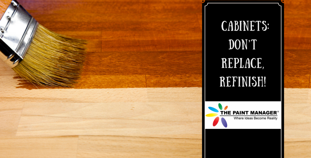 Cabinets – Don't Replace, Refinish!