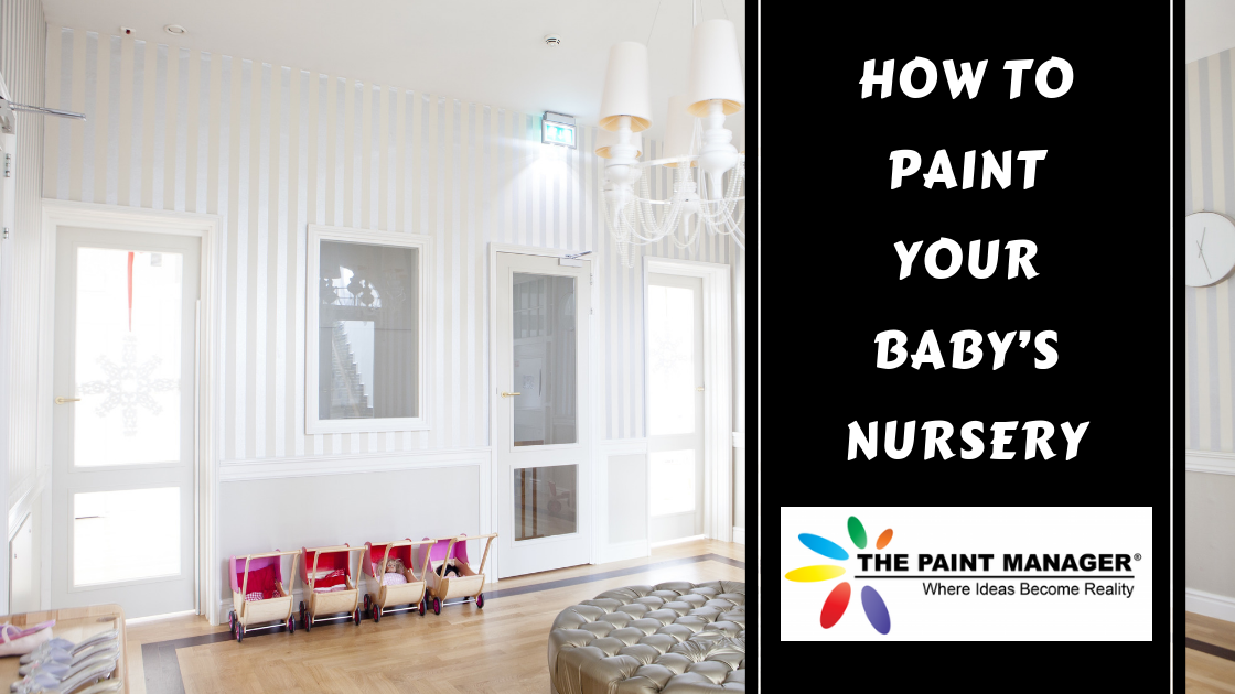 How to Paint Your Baby's Nursery